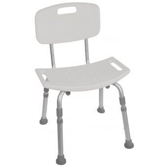 Bath Chair With Back