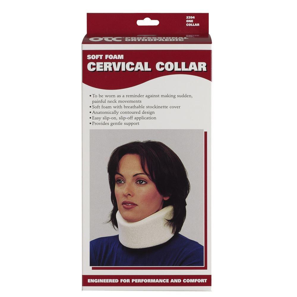 """Cervical Collar 4"""" (Black)"""