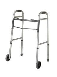 "Folding Walker with 5"" Wheels"