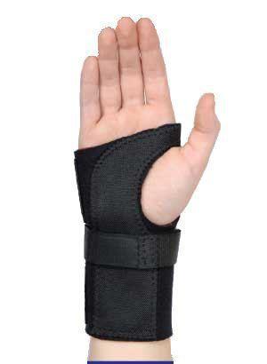 Contoured Wrist Brace: Medium